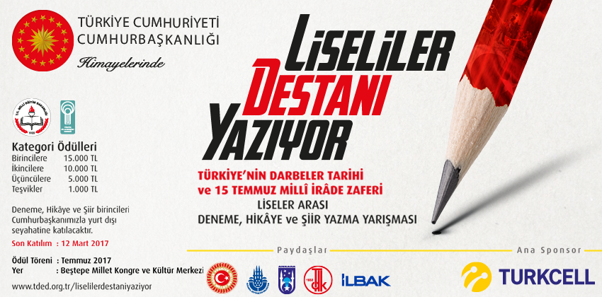 LİSELİLER DESTANI YAZIYOR